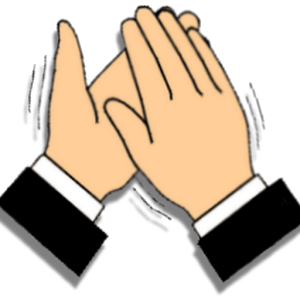 15 Clapping Hands Together Fr - Hands Clapping Clip Art