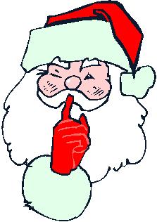 Secret Santa Clipart