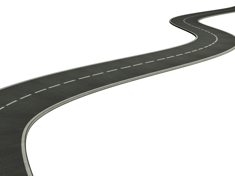 Winding Road Clipart