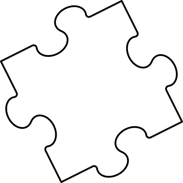 16 Awesome Free Printable Puzzle Pieces -16 Awesome free printable puzzle pieces images-8