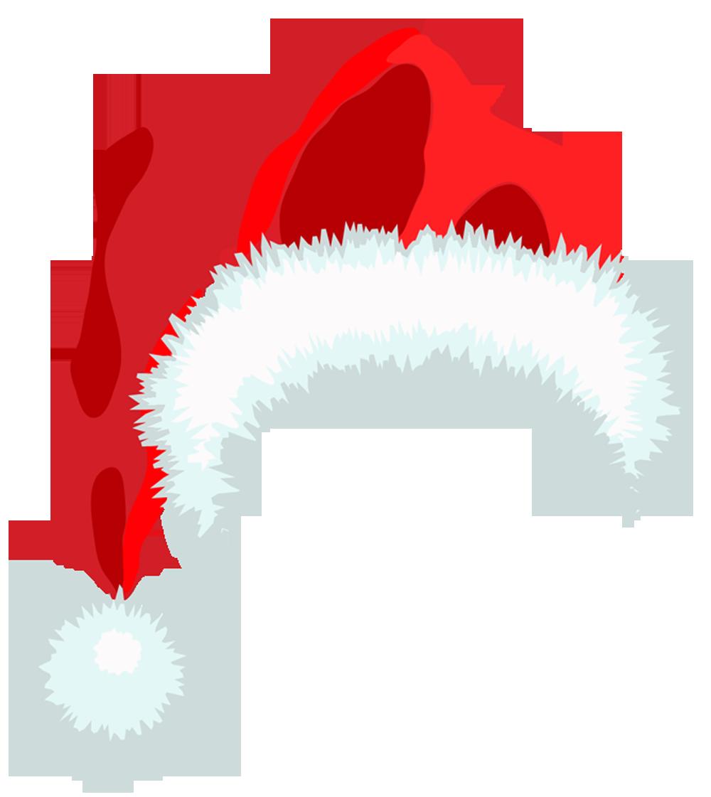 16 Christmas Santa Hat Clipart