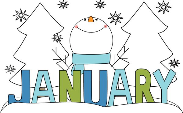 January Images Clipart
