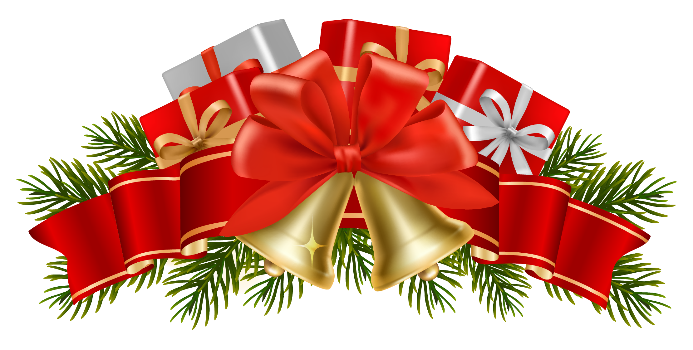 17 Christmas Bells Clip Art Pictures