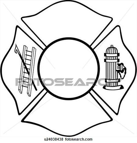 17 Fire Maltese Cross Clip Art ... pensioner clipart