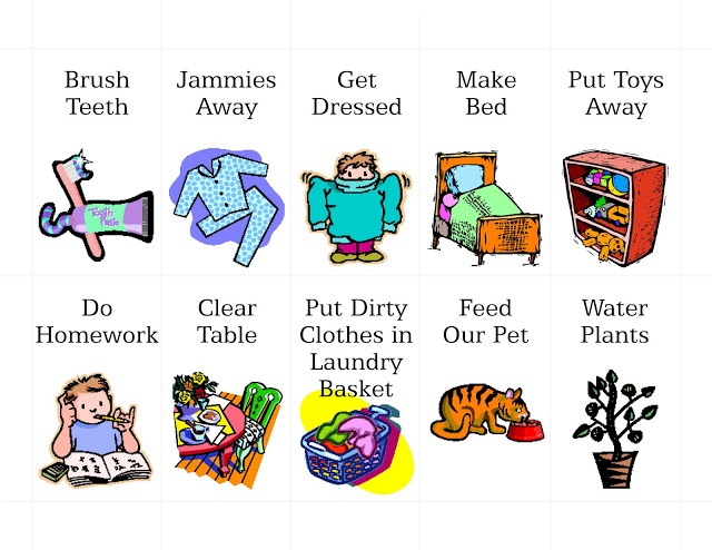 17  Images About Clipart On Pinterest | -17  images about clipart on Pinterest | Chore chart kids, Clip art and Chore chart pictures-0