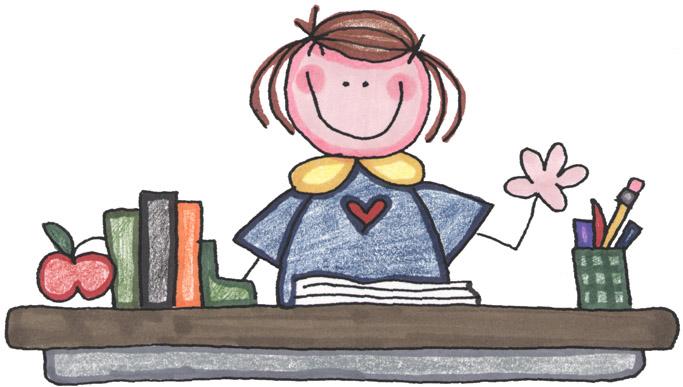 Cute Teacher Clipart
