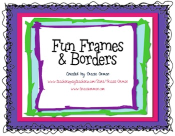 17  images about Frames u0026 Borders on Pinterest | Teaching, Clip art and Dr.  seuss