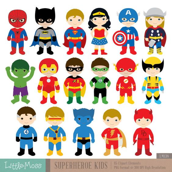 17 Superheroes Characters Digital Clipar-17 Superheroes Characters Digital Clipart, Superhero Clipart, Superhero Boys, Superman Clipart, Batman Clipart, Spiderman Clipart - Visit to grab an amazing ...-11