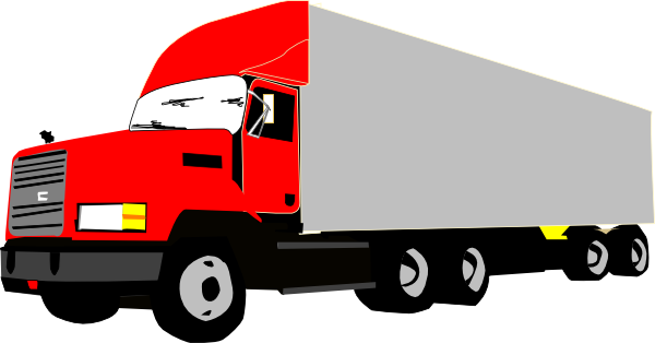 18 Wheelers Clipart