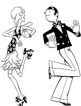 1920s Dancing Clipart-1920s Dancing Clipart-0
