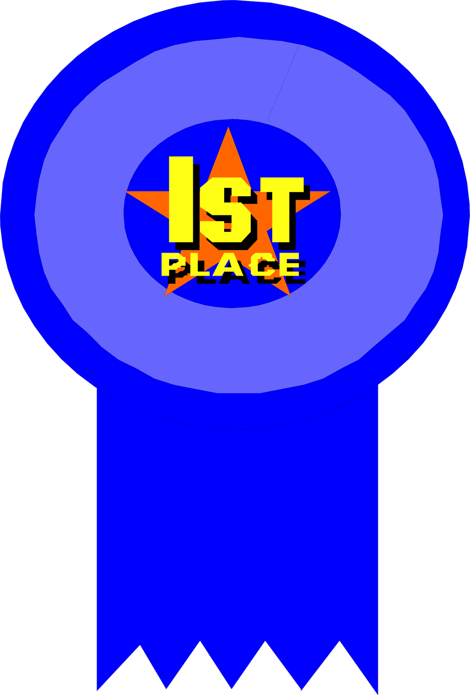 1st Place Award Ribbon Clipart-1st place award ribbon clipart-1