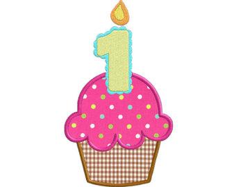 1st Birthday Clipart Orange Birthday Cup-1st Birthday Clipart Orange Birthday Cupcake-0