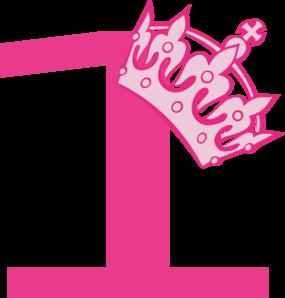 1st Birthday Pink Tiara Clip Art At Clker Com Vector Clip Art Online
