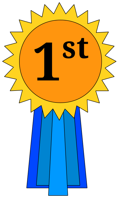 1st Place Award Ribbon Clipart Clipart Panda Free Clipart Images