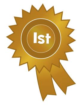 1st Place Rosette Clipart