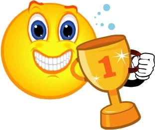 1st Place Trophy Clipart My .