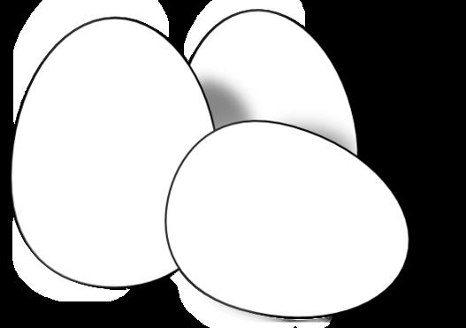 2 Fried Eggs Clip Art