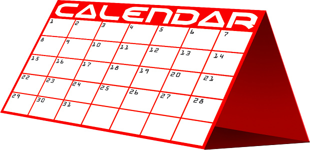 Calendar Clipart