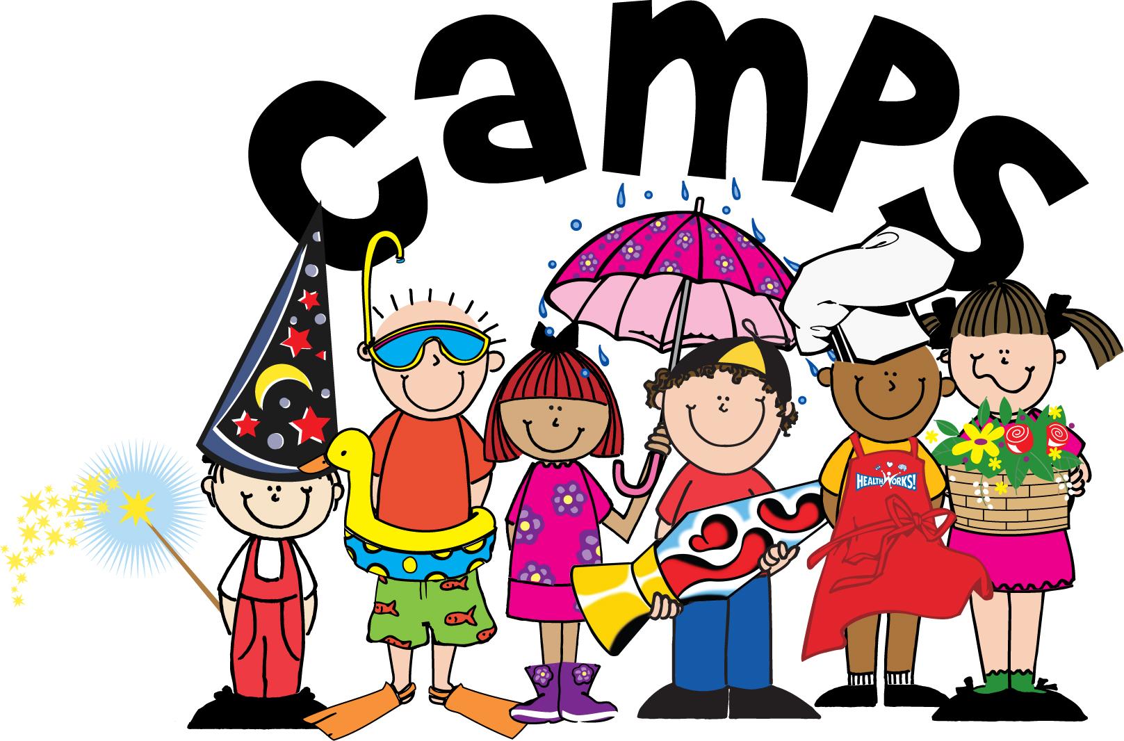 Summer Camp Clip Art