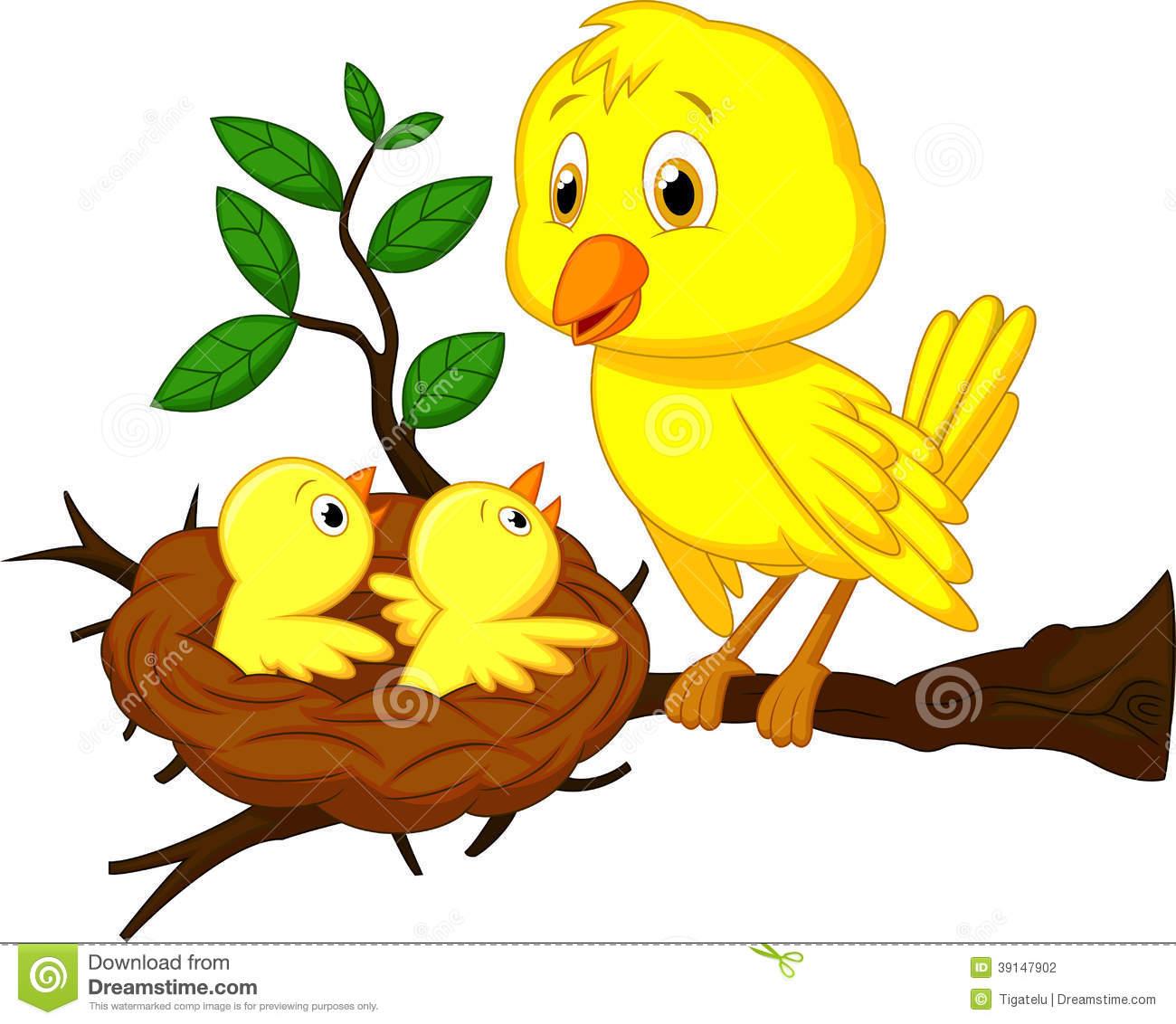Birds nest clipart
