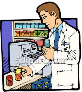 Pharmacist Clipart