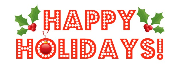 Happy Holiday Clipart