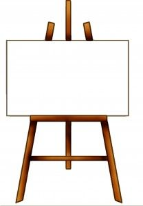 Easel Clipart