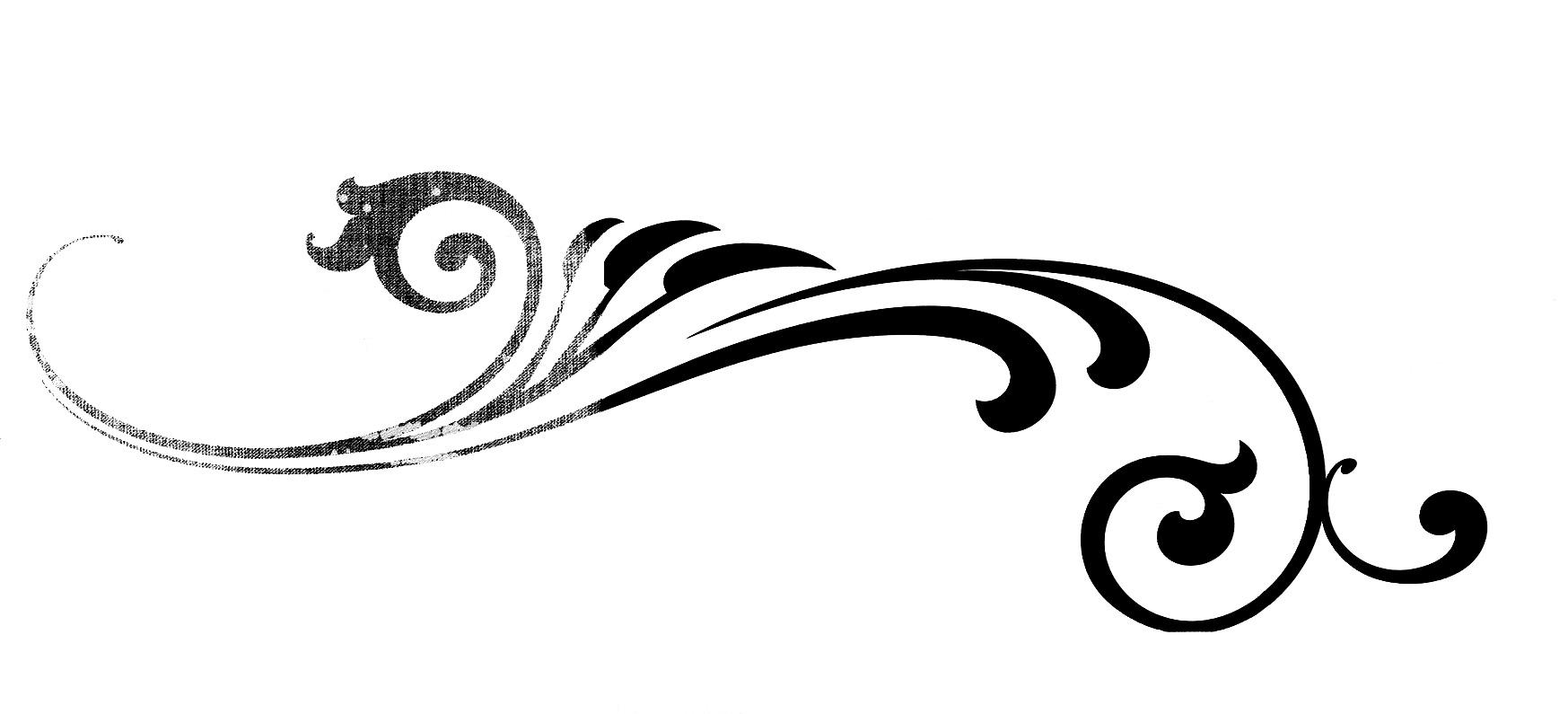 21 Fancy Flourish Free Clipar - Flourishes Clipart