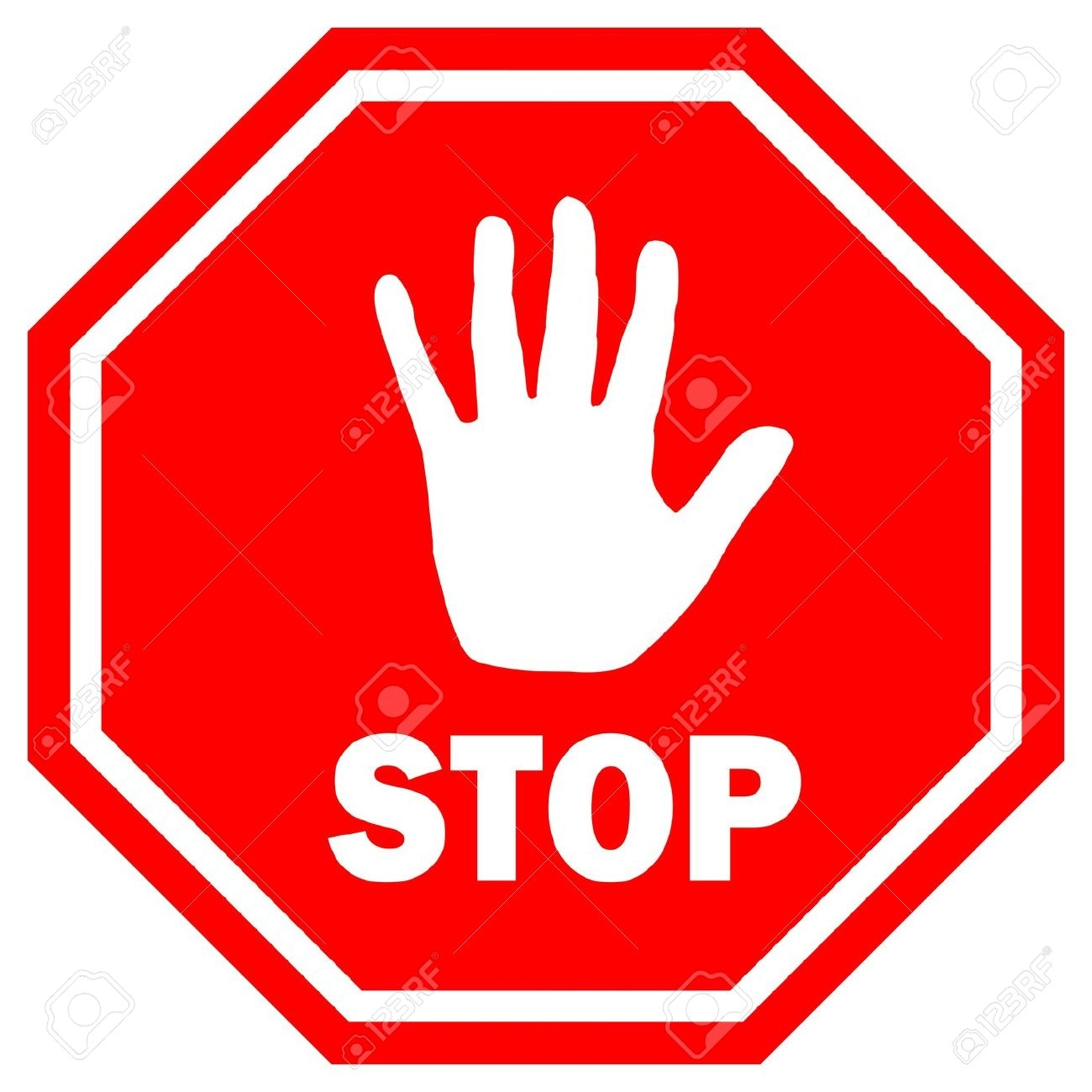 Clip Art Stop Sign