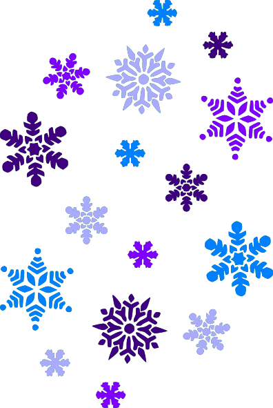 22 Simple Snowflake Clipart F - Clipart Of Snowflakes