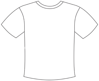 23 T Shirt Outline Printable Free Cliparts That You Can Download To