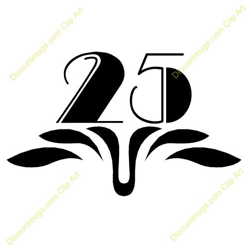 25 Anniversary Clipart #1-25 Anniversary Clipart #1-1