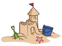 25 Building Sand Castle Clipart .