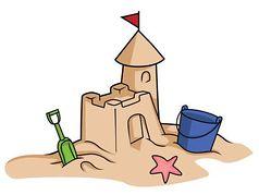 ... 25  Building Sand Castle Clipart ...
