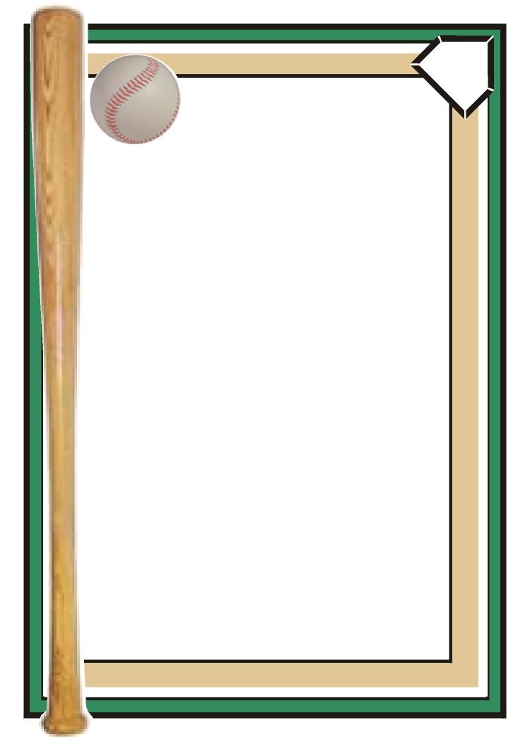 26 Baseball Page Border Free Cliparts Th-26 Baseball Page Border Free Cliparts That You Can Download To You-3