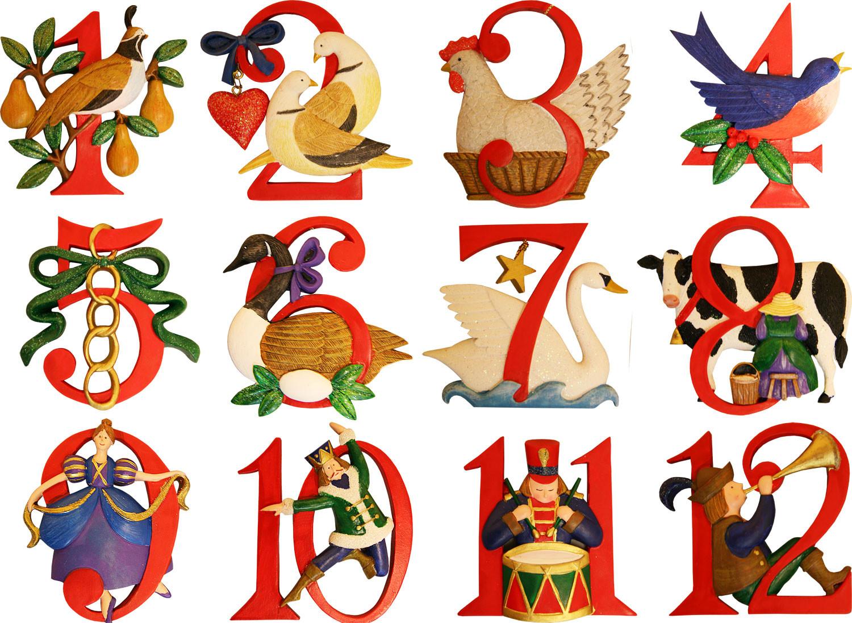 270dcbc0566cee048e44e23fd8748 - 12 Days Of Christmas Clipart