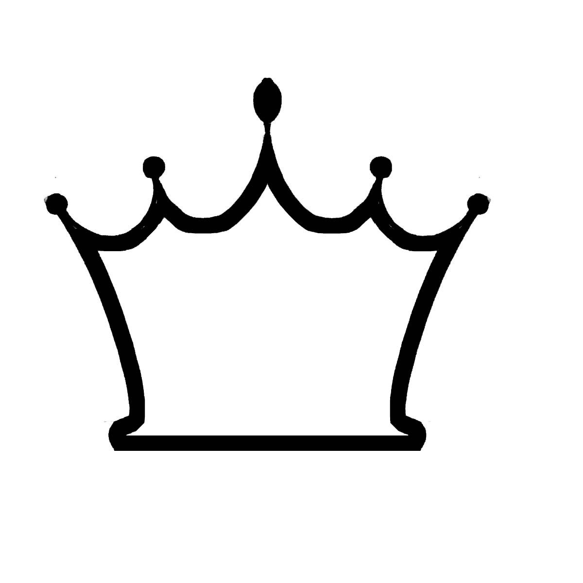 28 Keep Calm Crown Vector Fre - Crown Outline Clip Art