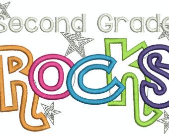 2nd grade clipart