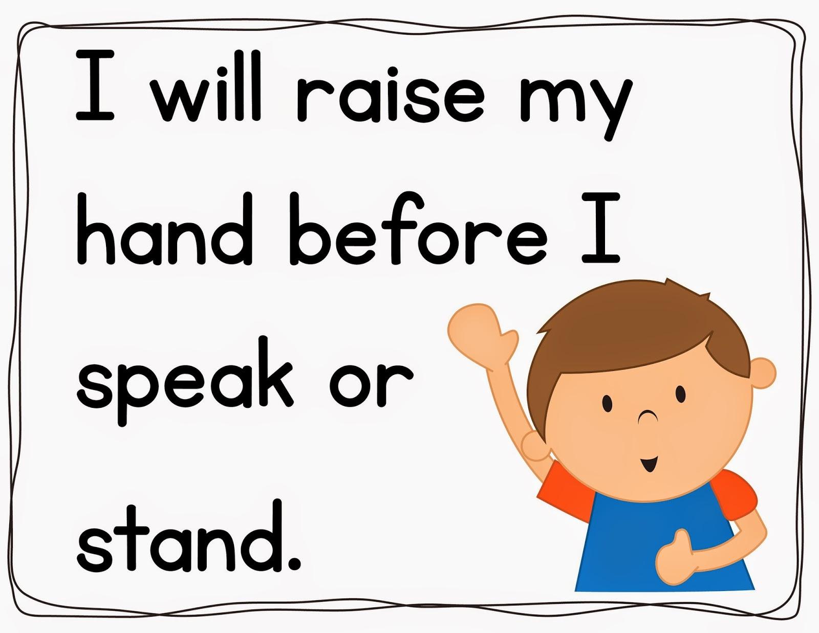 Classroom Rules Clipart