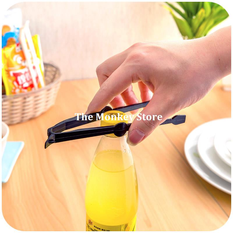 2Pc/Set Portable Clip Salad Cake Bread Potato Chips Kitchen Snack Food Tongs F3810(