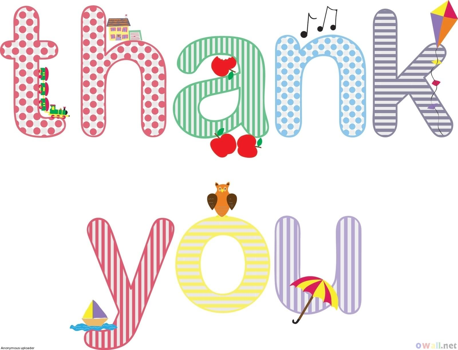 Clipart Of Thank You