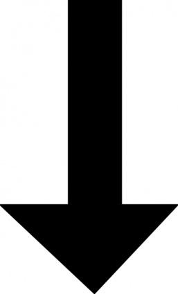 Arrow down. Clipart clipartlook