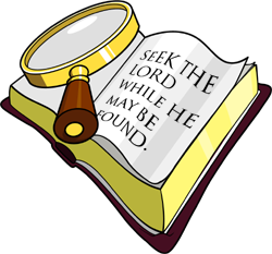 Bible Study Clipart