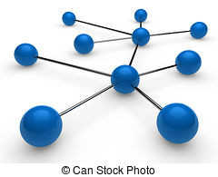 ... 3d blue chrome network - 3d blue chr-... 3d blue chrome network - 3d blue chrome ball network.-15