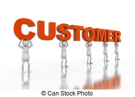 3d Businessman Shaking Hands With Custom-3d businessman shaking hands with customer Clip Artby Kirill22/1,656; Customer - Customer-17