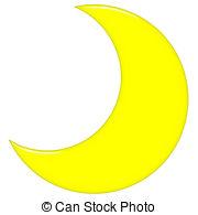 ... 3D Crescent Moon - 3d Crescent Moon -... 3D Crescent Moon - 3d crescent moon isolated in white 3D Crescent Moon Clip Artby ...-0