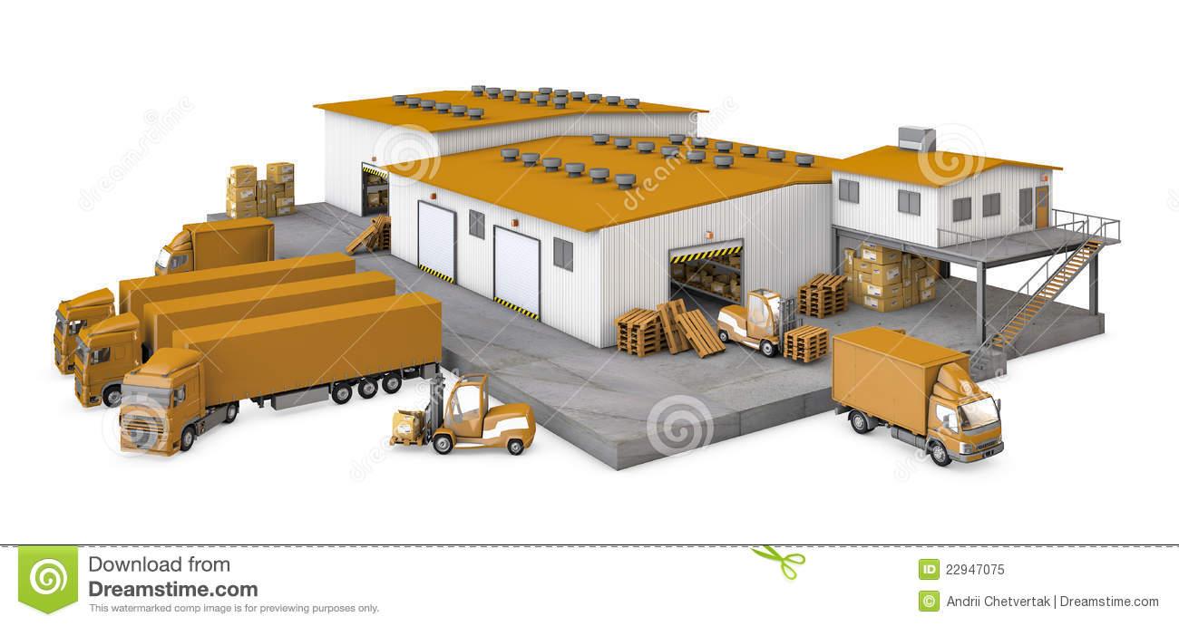 Warehouse Clip Art