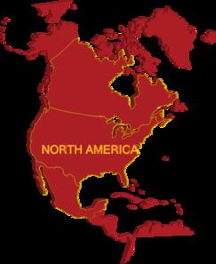 3d North America Map Clip Art-3d North America Map Clip Art-0