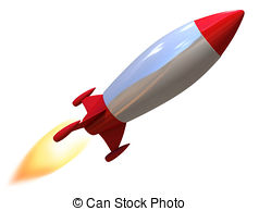 ... 3d rocket isolated illustration 3d rocket isolated Clip Artby ...