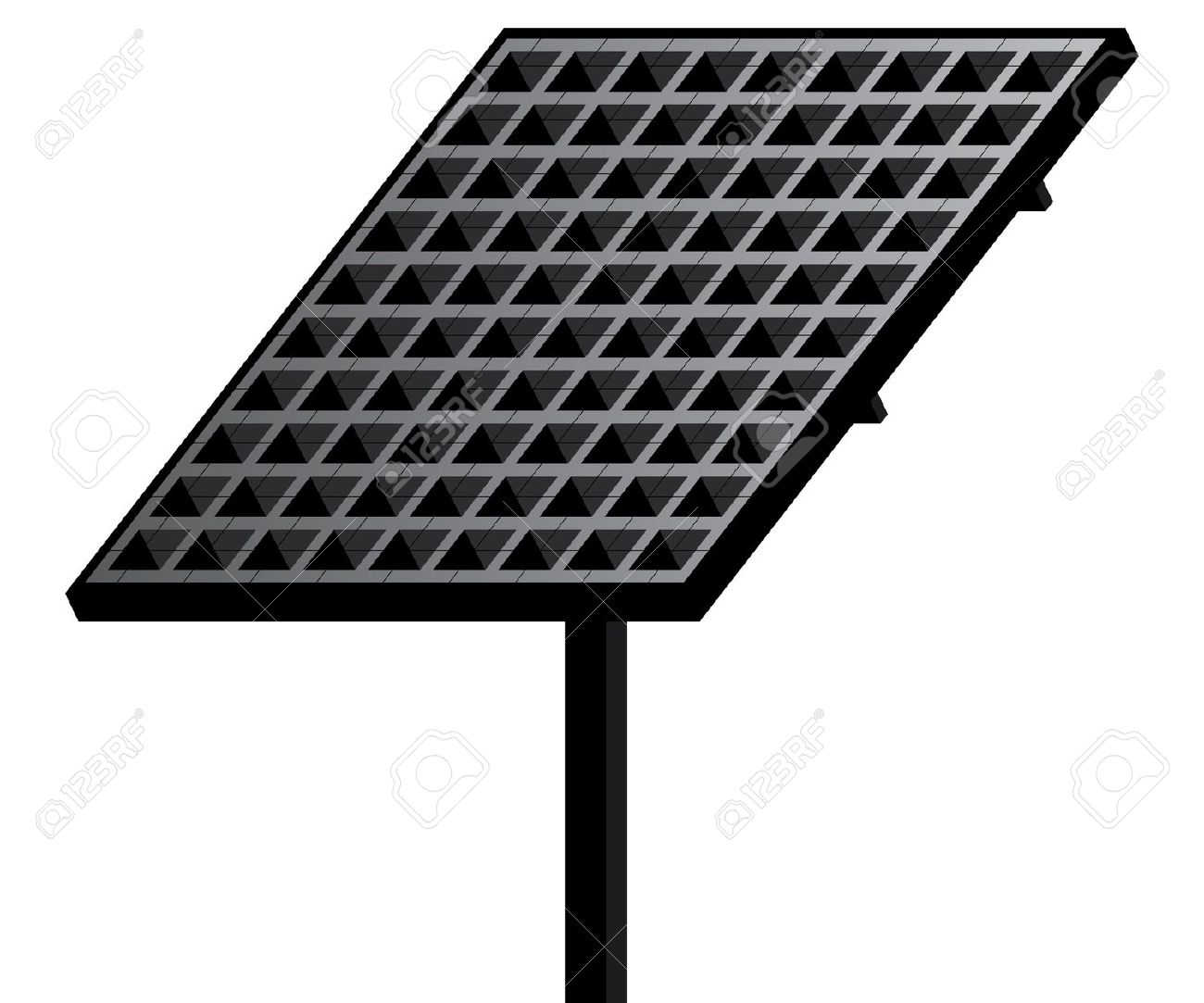3d Solar panel. Clipart Info